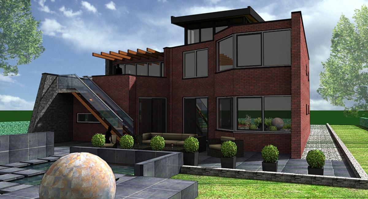 Ontwerp je droomhuis simple goedkoop huis bouwen for Zelf woning ontwerpen
